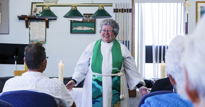 Wabamun Mission Expresses Gratitude for Founding Rector's Leadership image