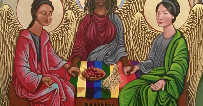 Holy Trinity Sunday year A  image