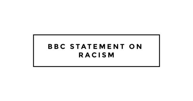 Statement on Racism image