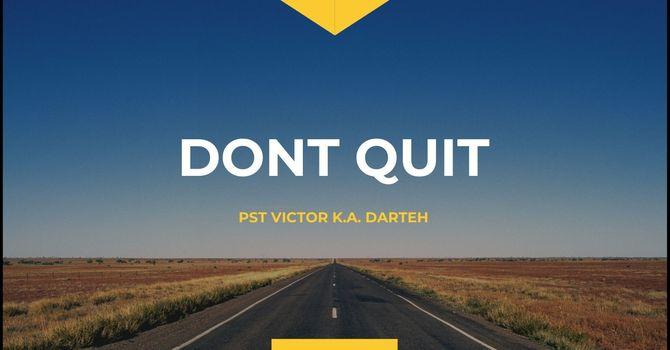 Dont Quit image