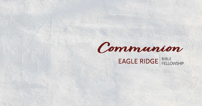 Communion for June 2020 image