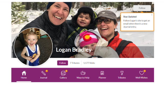 Stay Connected to Logan Bradley image