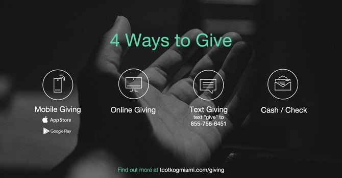 4 Ways to Give image