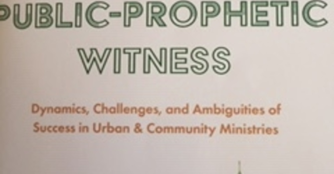 "Book Review: ""A Faithful Public- Prophetic Witness"" image"