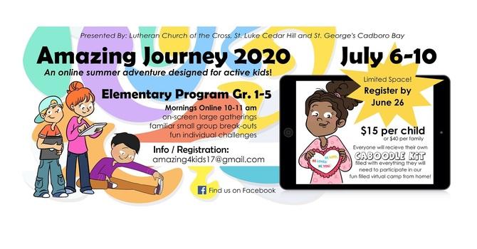 The Amazing Journey 2020 Virtual Camp - Registration Deadline June 26th image