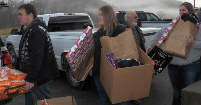 Christmas Baskets for Christ