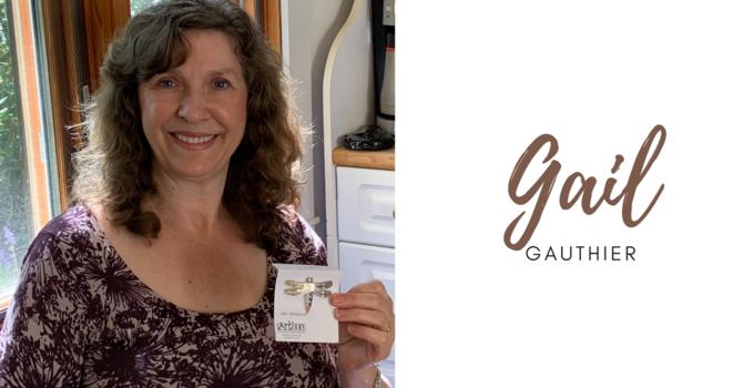 Gail Gauthier awarded bishop's pin image