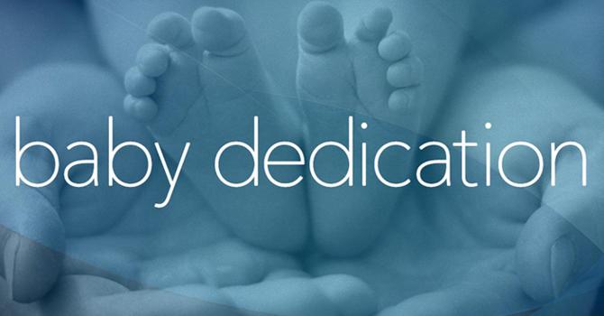 Baby Dedication Service image