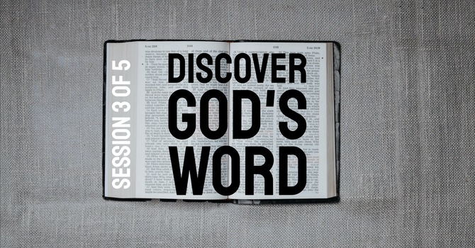 Discover God's Word: STUDYING image