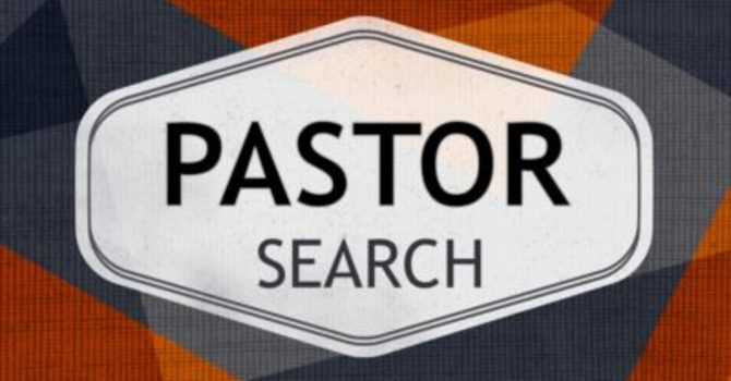 Lead Pastor Position - POST image