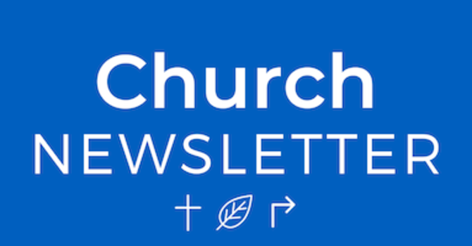 Newsletter - June 10, 2020 image
