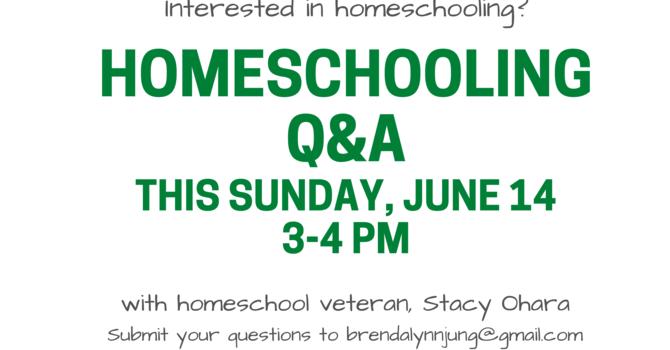 Homeschooling Q&A image