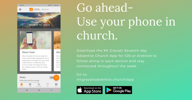 Introducing Our New Church App image