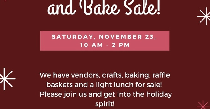 St. John the Evangelist Craft fair and Bake Sale image