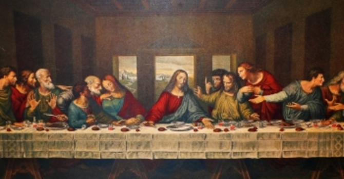 Please Note Slight Time Changes To Maundy Thursday image