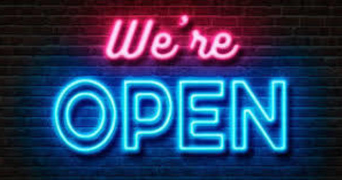 Open This Sunday!