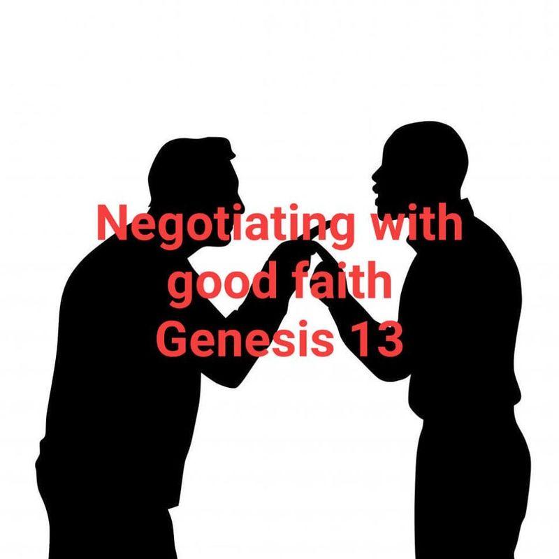 Negotiating with Good Faith