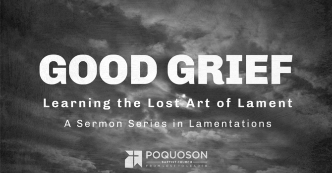 The Ending of Lamentations and the Savior of the World image