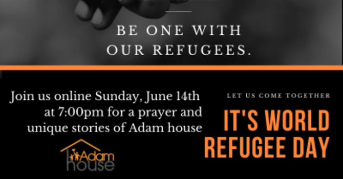 World Refugee Day with Adam House  image