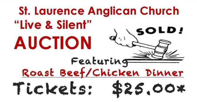 St. Laurence Dinner Auction