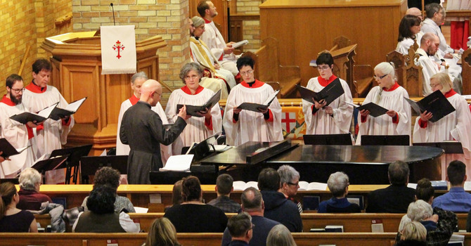 Choristers Invited to Sing in Diocesan Choir