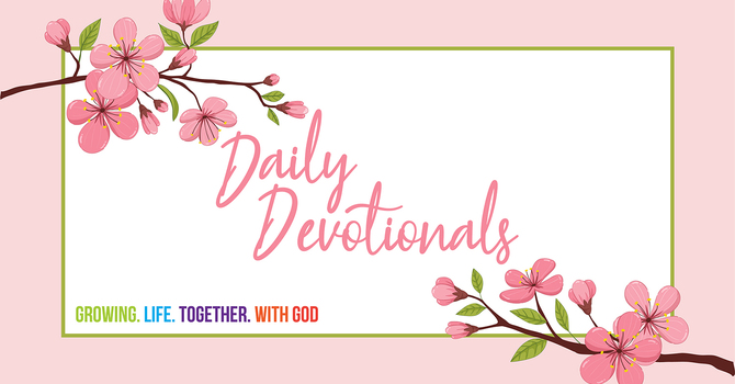 Daily Devotional by Rev. Fiona Swanson