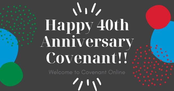 40th Anniversary Sunday!!