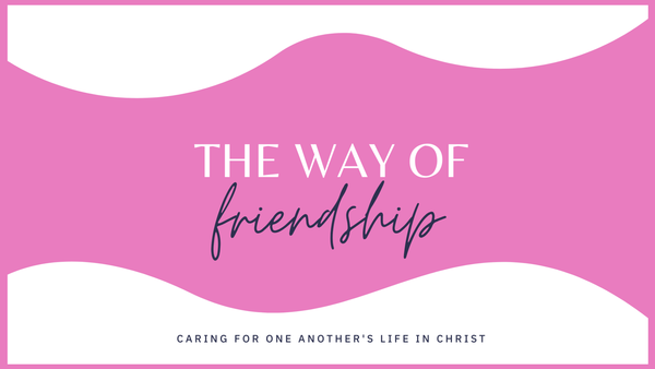 The Way of Friendship: Caring For One Another's Life in Christ