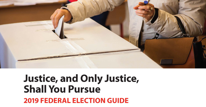 2019 Federal Election Guide image