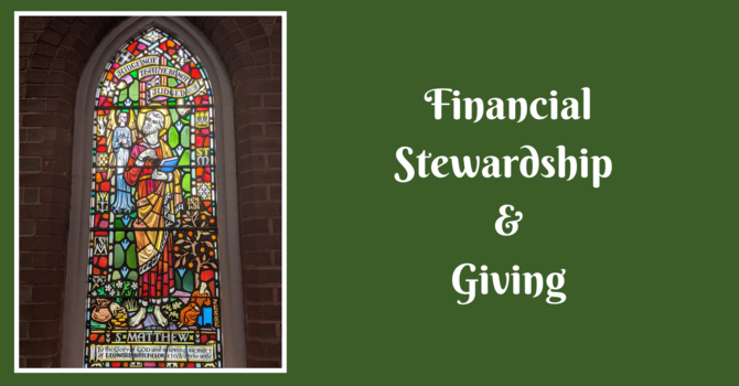 Financial Stewardship & Giving