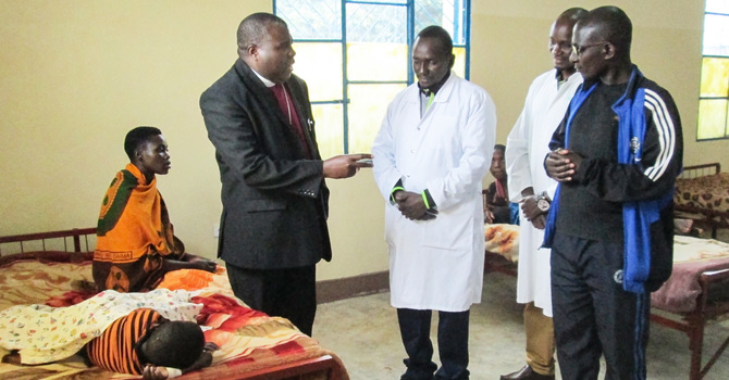 Buye Diocese Celebrates Pediatric Ward Opening image