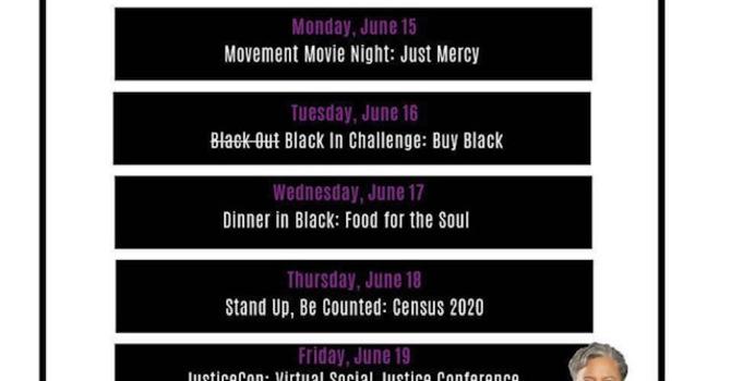 Juneteenth Schedule 2020 image