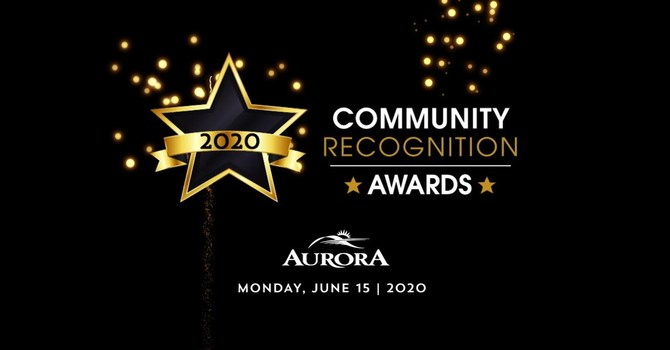 Town of Aurora Community Recognition Awards image