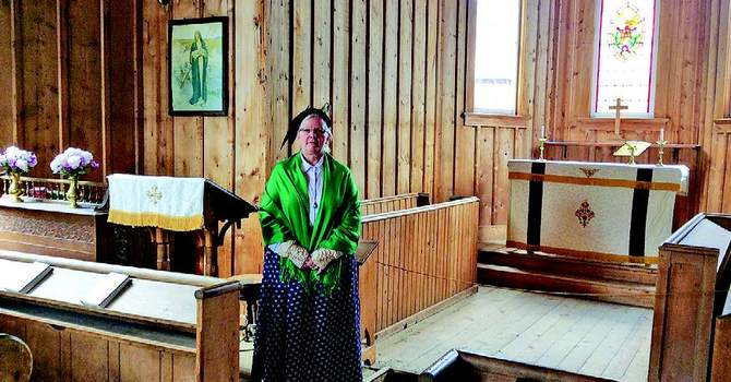 Ashcroft resident steps back in time all summer in Barkerville image