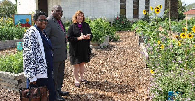 Bishop's Anniversary Collection to Fund Water Spring in Buye Diocese image