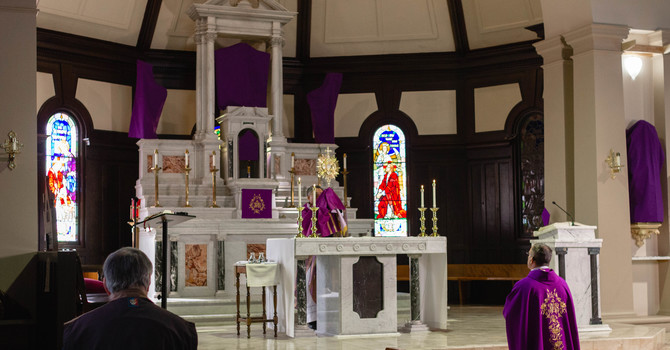 Bishop Joseph Nguyen blesses the Diocese and City of Kamloops image