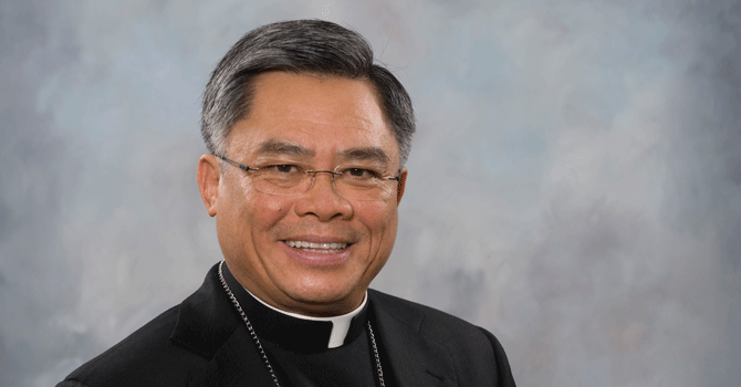 Bishop's statement about Quebec shooting image