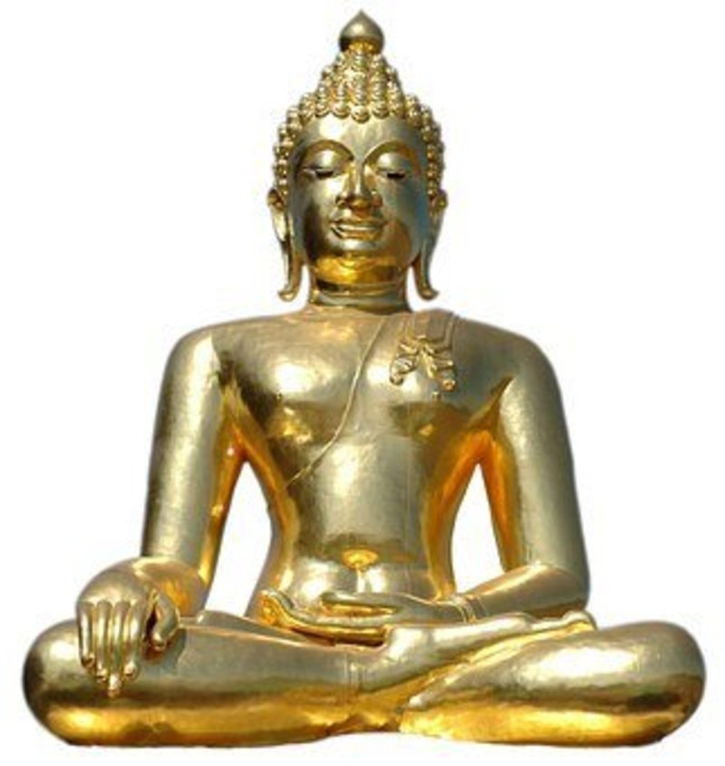 The Golden Buddha: a story