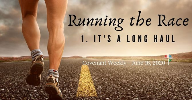 Running the Race: It's a Long Haul image