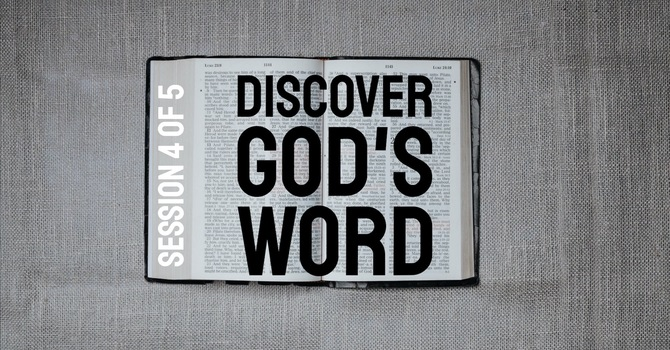 Discover God's Word: MEMORIZING image