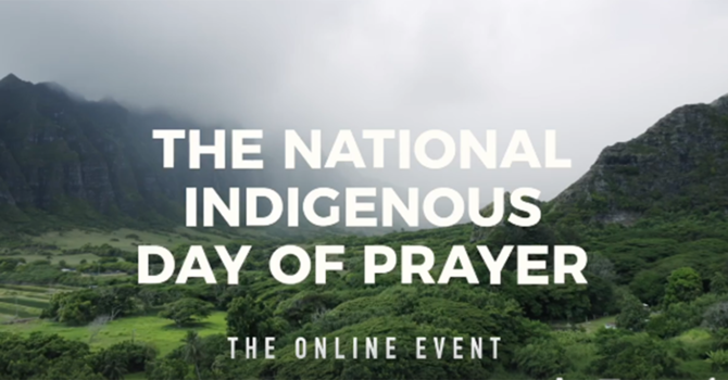 National Indigenous Day of Prayer image
