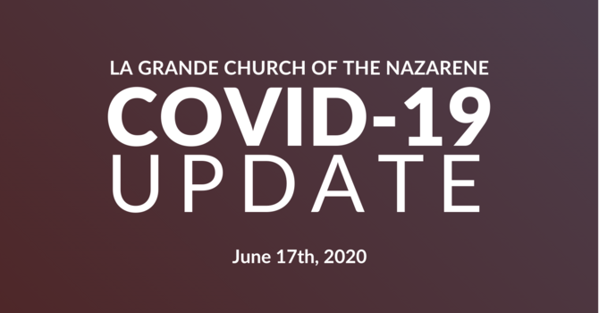 June 17th, 2020 COVID-19 Update