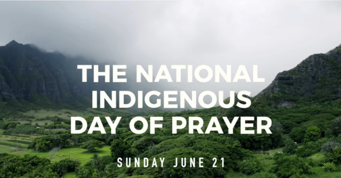 The National Indigenous Day Of Prayer image