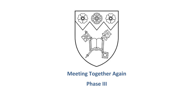 Diocese Launches Phase III of Meeting Together Again image