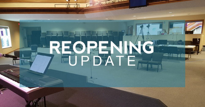 Church Reopening image