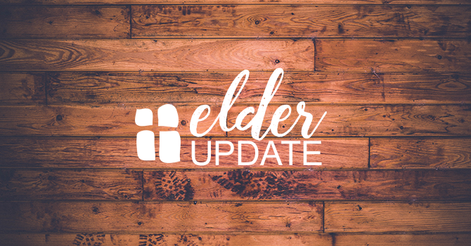 Update from the Elders image