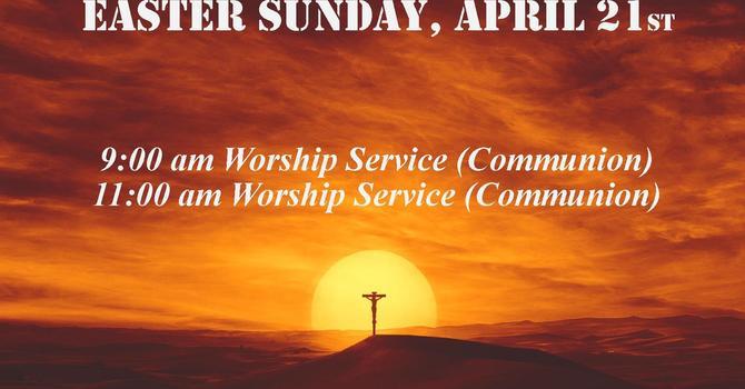 Easter Sunday Bulletin image