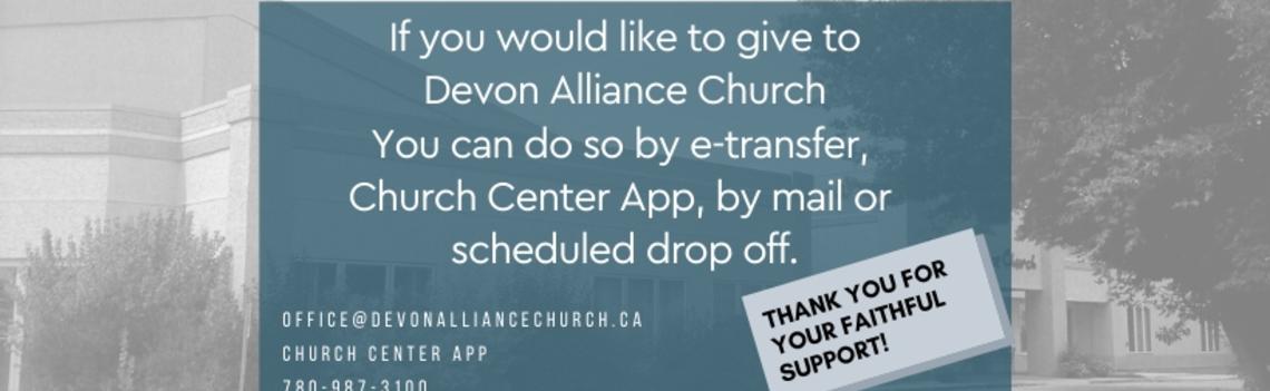 Devon Alliance Church