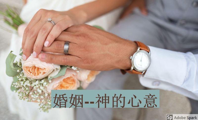 婚姻--神的心意