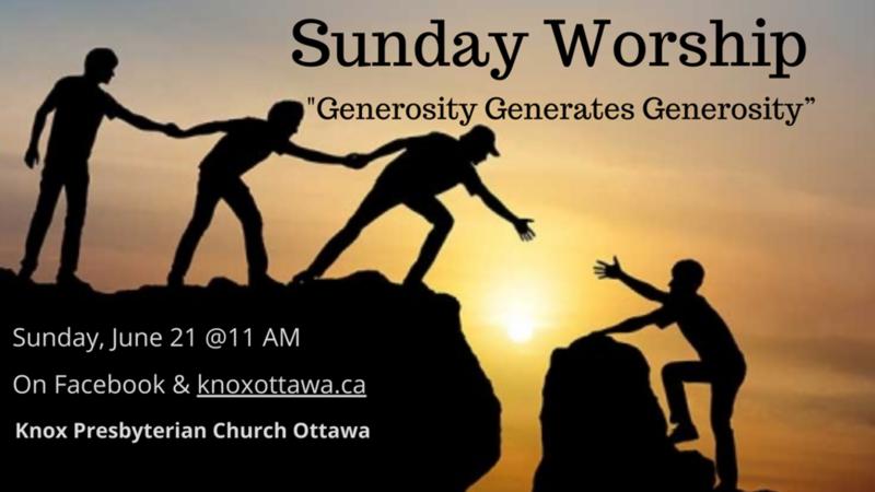 Generosity Generates Generosity